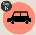 タイヤ良販本舗の「step6購入完了」ロゴ画像